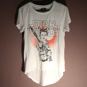 Star Wars long tail short sleeve tee
